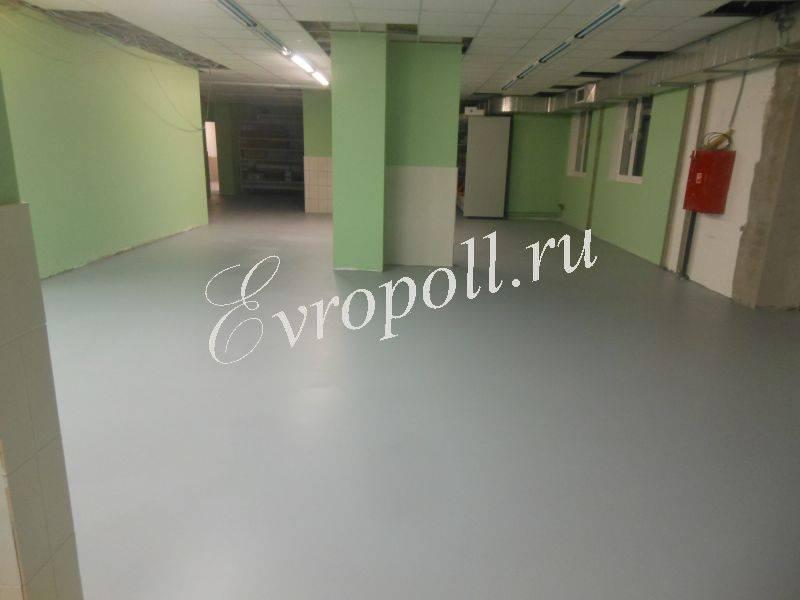 Наливной пол для офисного центра защитные краски для фасадов