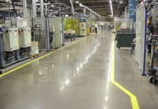полимерный пол для электрической промышлености