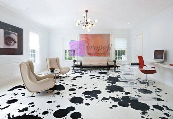 Декоративные наливные полы в квартире